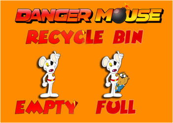 Danger Mouse Bin For Xwidget by DaveBreck