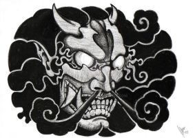 Hannya of the storm by dfmurcia