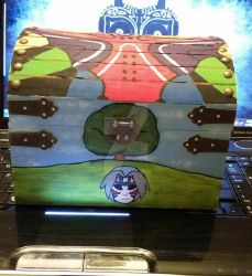 Majora's Mask themed chest - 2 by NarutoHinataLuvr