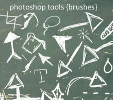 photoshop tools_brushes by Najuj