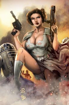 Princess Leia Colors by dartbaston