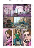 bedroom scenes comic color by johnercek