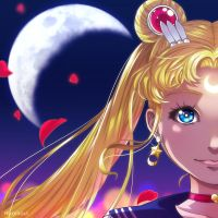[NP/Fan Art] Sailor Moon Crystal by Hikarisoul2