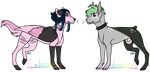 Some Doggos (open) by Emolovecookies