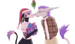 a little mistletoe by TrainTheFox
