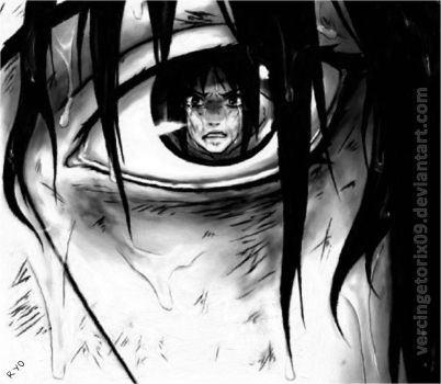 Sasuke in the eyes of Itachi by vercingetorix09