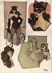 Catwoman Rockabilly by DenisM79