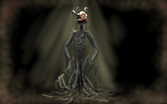 Molted Freddy from the shadows ||Fnaf6|| by B-Simon