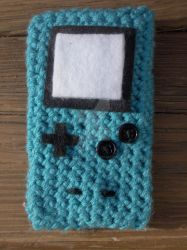Gameboy Color Inspired Phone case by PerilousBard