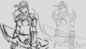 League of Legends - Ashe by Suigetsu77