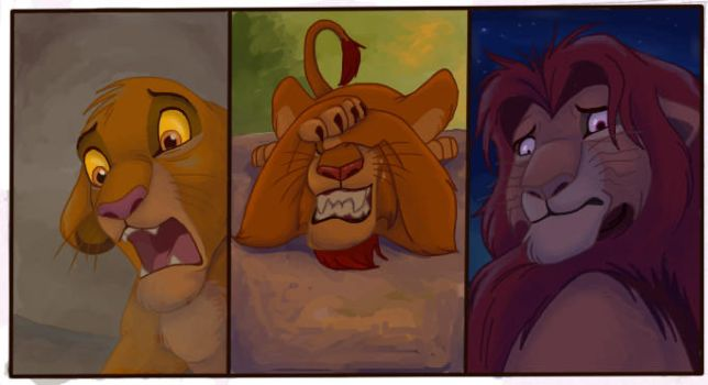 Literal Lion King - Post Traumatic Stress by NostalgicChills