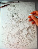 Sailor Moon WIP by ArtTreasure