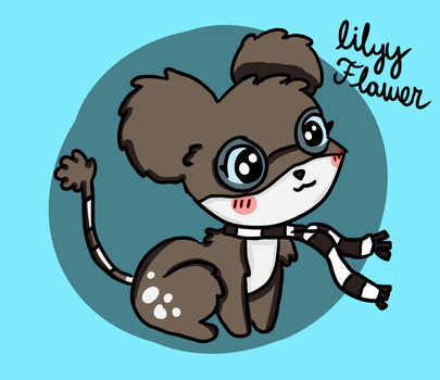 Lilly Flower by AnimaloverXD