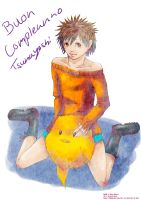 Happy B-Day Tsunayoshi by Shion-Tan