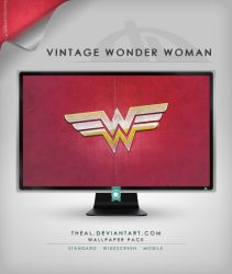 Vintage Wonder Woman by TheAL