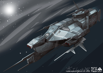 Kushan Destroyer from Homeworld PC game 1 by 4-X-S
