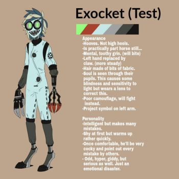Exocket (9 OC)  by Vigment