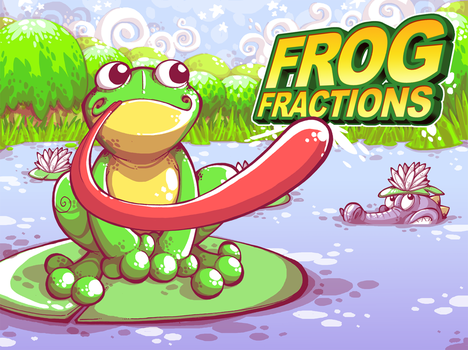 FROG FRACTIONS by buttermonster