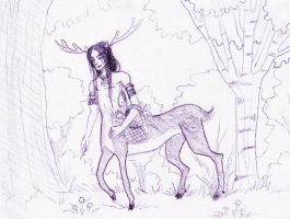 Dryad Concept Sketch by EmilyCammisa
