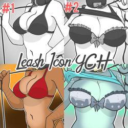 Leash Icon YCH OPEN (UNLIMITED SLOTS) by teaesthetic