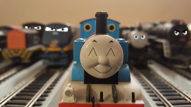 Thomas stealing all the attention by Tyler3967