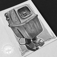 A New Hope: Gonk Droid by BikerScout