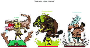 The Outcasters - G'day Mate This Is Australia by CheesySquidSandwich