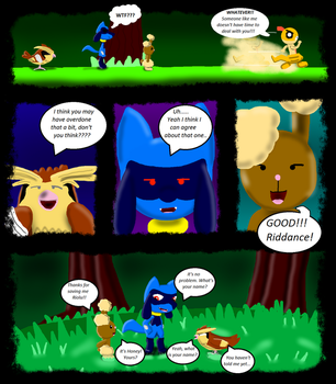 Pokemon Revival comic chapter 1 page 9 by XetaJTS
