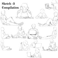 Sketch Compilaion -3 by BlkBtrfli8