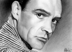 Sean Connery by GAttkins