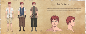 Character Sheet: Eric by Spudfuzz