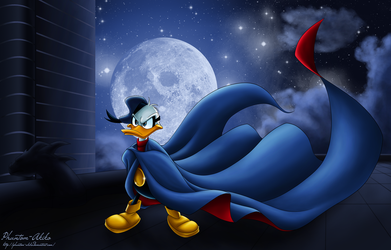 Night in Duckburg by Phantom-Akiko