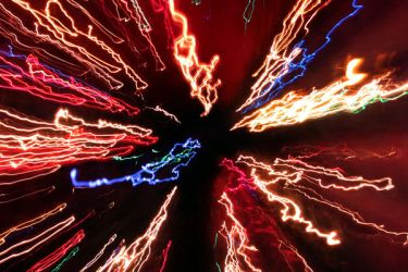 Abstract Light Pulse by ImageAbstraction