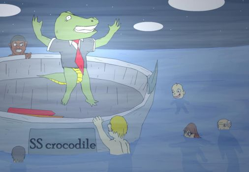 attack of the killer Crocohumens by shimshomo