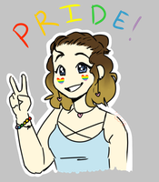 Pride month! by concretecrow