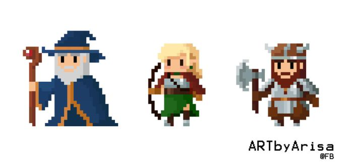 Pixel RPG by ARISA777o-w-o