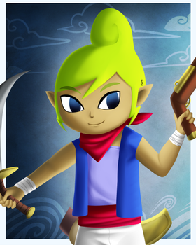 Hyrule Warriors Tetra by Icy-Snowflakes