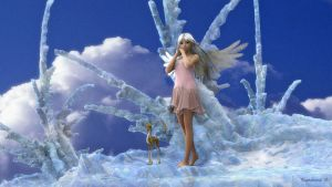 Cloud Angel by Figament