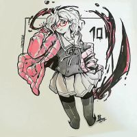 #Inktober - Day 010 MIRAI by oOCherry-chanOo