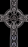 Celtic Cross Black by UnicronHound