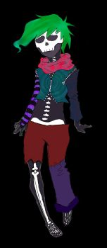 Adopt1 Colorful Skull dude 35Points (OPEN) by Zora-Steam