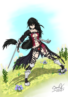Velvet Crowe Fan Art Tales of Berseria by MechanizedMoonProds