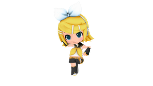 [MMD DL] Project Mirai DX Rin Default by FreezyChanMMD