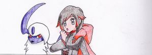 Ruby Rose would like to battle by Gallade95