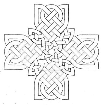 Celtic Cross Design 2 by baalthezzar