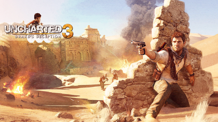 Uncharted 3 Wallpaper by Slydog0905