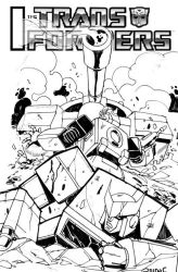 Bumblebee unused cover 4 by GuidoGuidi