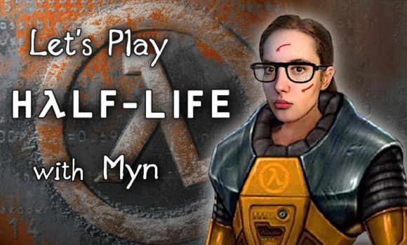 Let's Play Half-Life - thumbnail art by Myn-Anthony