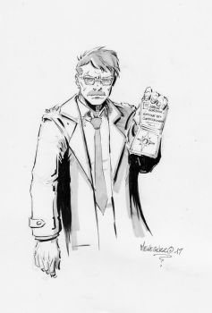 Jim Gordon Quicksketch by MenguzzOArt