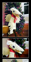 The Christmas Dragon by Fireberd904